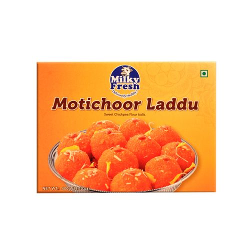 Milky Fresh  Sweets - Motichur Ladoo (Pure Ghee), 200 g