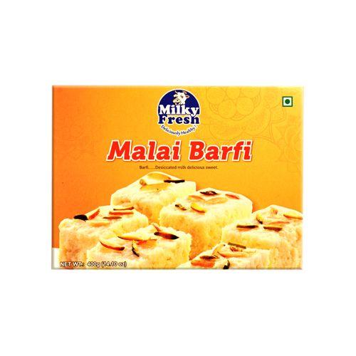 Milky Fresh  Sweets - Malai Barfi, 400 g