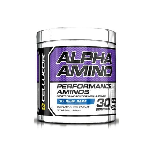 Cellucor Alpha Amino - Blue Raspberry, 30 servings