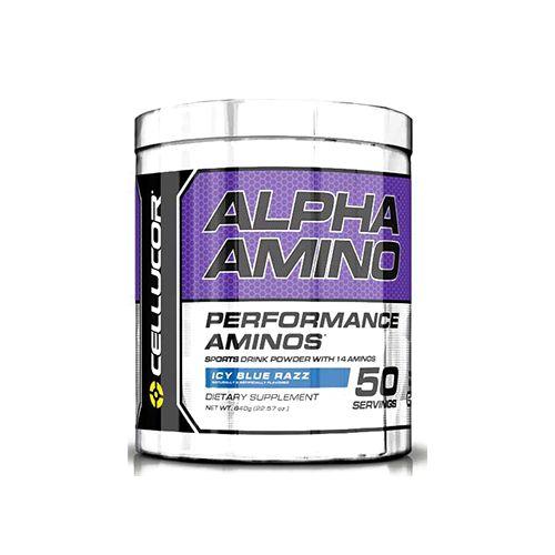 Cellucor Alpha Amino - Blue Raspberry, 50 servings