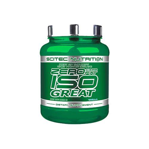 SCITEC Zero Iso - Great, Vanilla, 900 g