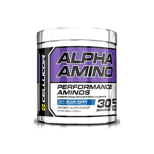 Cellucor Alpha Amino - Blue Raspberry, 30 servings