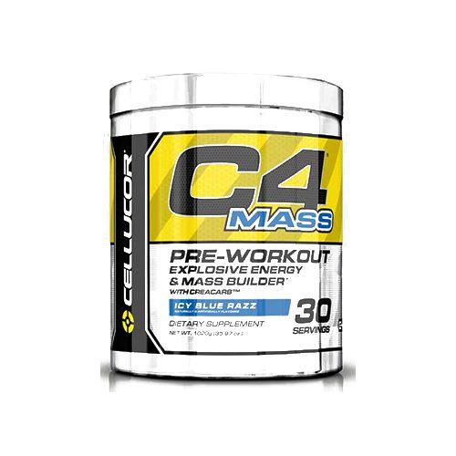 Cellucor C4 Mass - Blue Rasberry, 30 servings