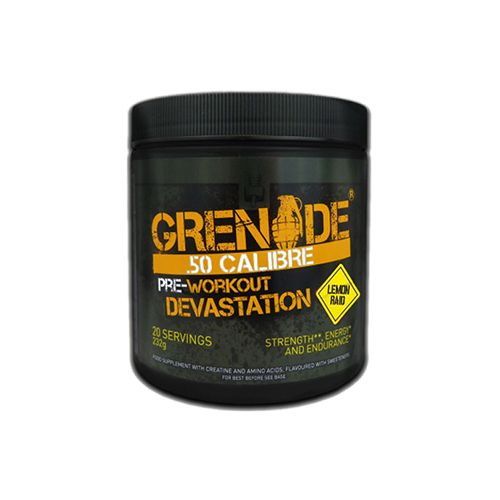 Grenade 50 Calibre 20 Srv Tub - Lemon Raid, 580 g