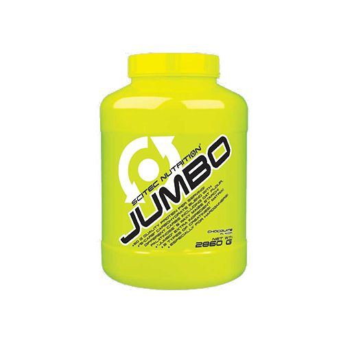 SCITEC Jumbo - 1:3 Lean Mass Gainer With Supercarbs, Chocolate, 2.86 kg