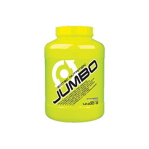 SCITEC Jumbo - 1:3 Lean Mass Gainer With Supercarbs, Strawberry, 4.4 kg