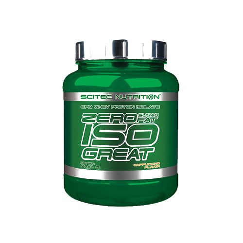 SCITEC Zero Iso - Great, Cappuccino, 900 gm