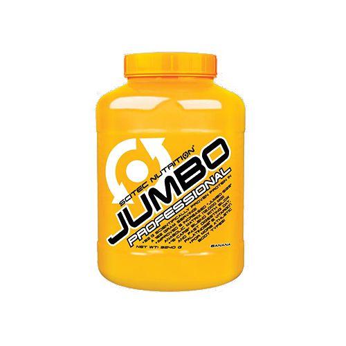 SCITEC Jumbo Professional - High Protein Gainer - Banana, 3.24 kg