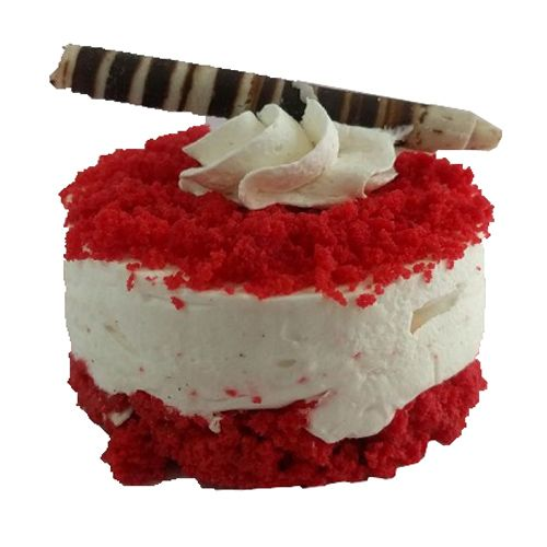 Cake Bright Cheese Cake - Red Velvet, 2 pcs
