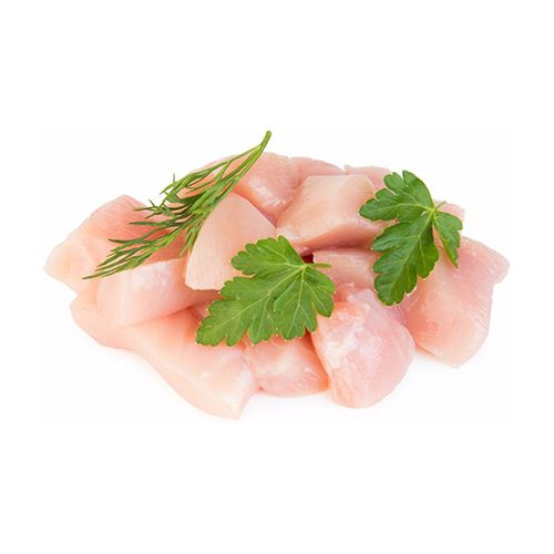 JK Chicken 100% Halal Chicken - Boneless, Medium Pieces, 1 kg