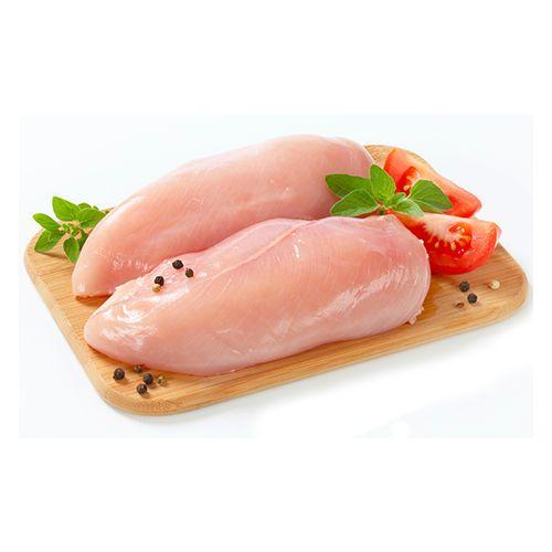 JK Chicken 100% Halal Chicken - Breast With Bone, Big Cut, 500 g