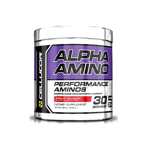 Cellucor Alpha Amino - Fruit Punch, 30 servings