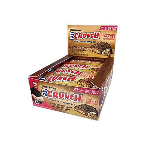 Fitcrunch Bars 88G - Choco Chip Cookie Dough, 12 pcs