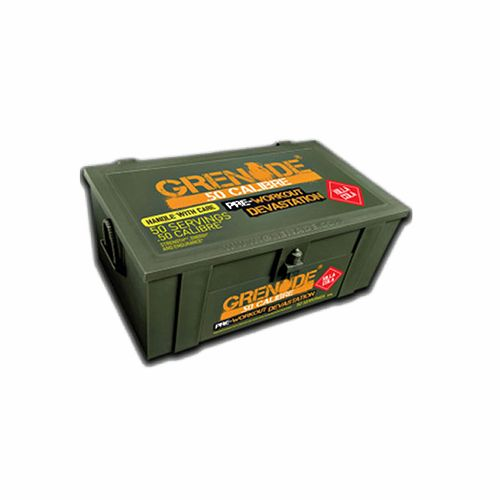 Grenade 50 Calibre Ammo Box - Killa Cola, 50 servings