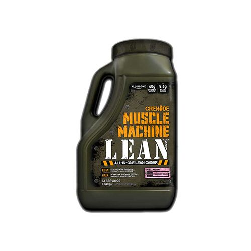 Grenade Muscle Machine Lean - Straw Jerry, 4 lbs