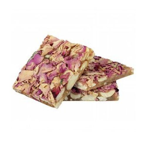 Jain Biscuit Centre Sweets - One Bite Dryfruit Rose Chikki, 200 g