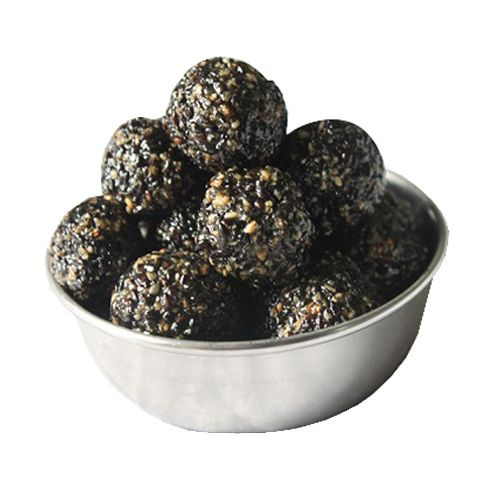 Jain Biscuit Centre Sweets - Black Til Laddu, 200 g