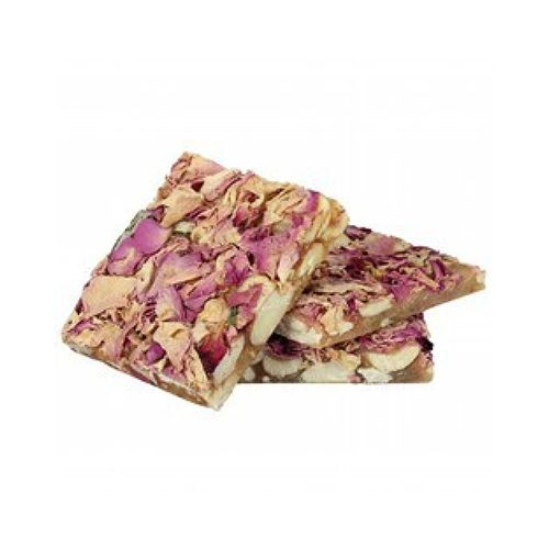 Avarya Sweets - One Bite Dryfruit Rose Chikki, 200 g