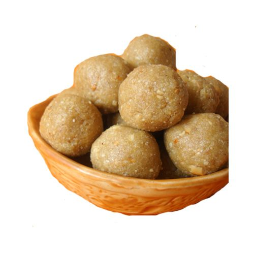 Punjabi Chandu Halwai Sweets - Bhuga Laddu, 500 g Box