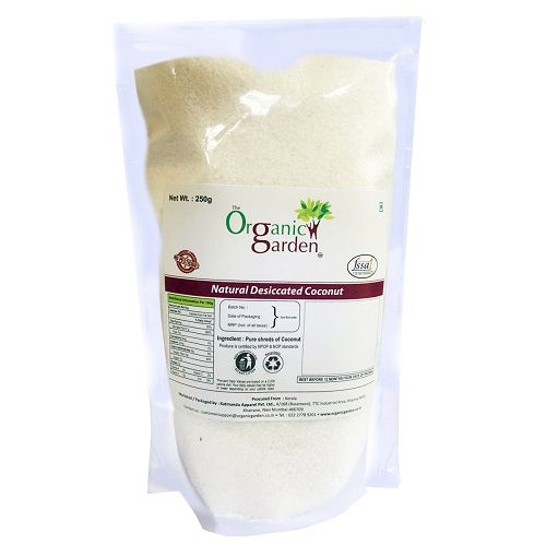 Organic Garden Desiccated Coconut Powder, 250 g Poly