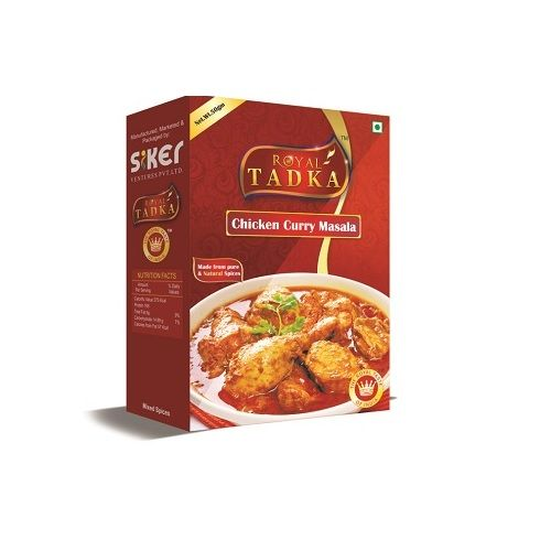 Royal Tadka Masala - Chicken Curry, 250 g Box