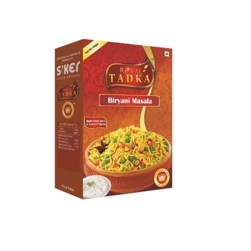 Royal Tadka Masala - Biryani, 250 g Box