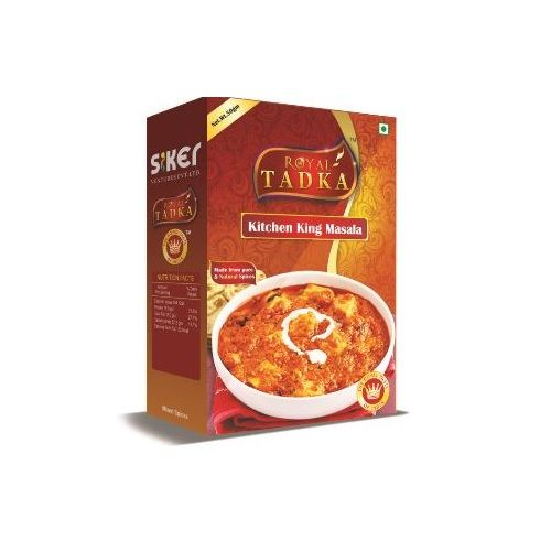 Royal Tadka Masala - Kitchenking, 250 gm Box