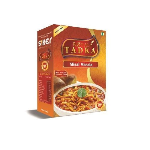 Royal Tadka Masala - Misal, 250 gm Box