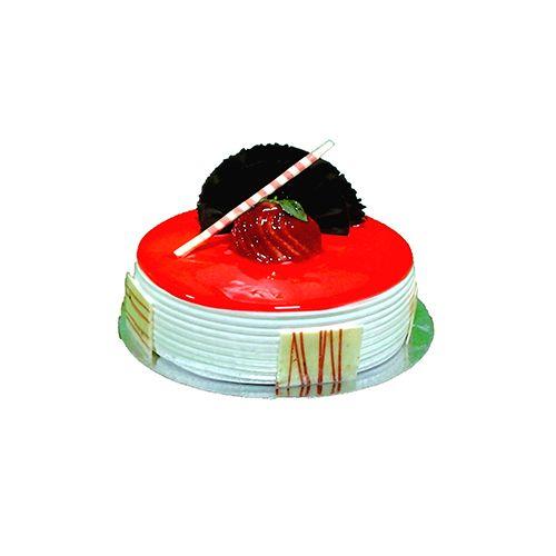 Olives & Oregano Fresh Cake - Straberry, 500 g Box