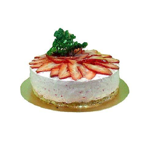 Olives & Oregano Cheese Cake - Strawberry, 500 g Box