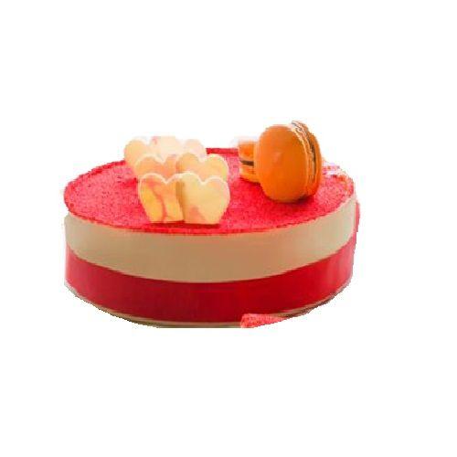 Olives & Oregano Fresh Cake - Red Velvet, 500 g Box