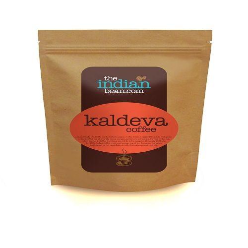 The Indian Bean.Com Coffee Beans - Kaldeva, 250 g Plastic/Paper
