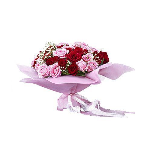 House Of Flowers by Marry Me Flower Bouquet - Eau De Rose, 1 pc