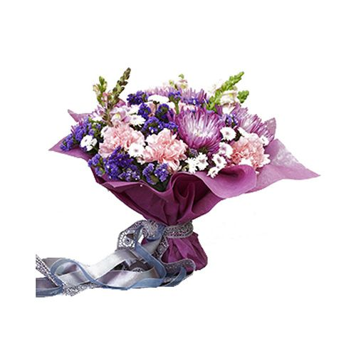 House Of Flowers by Marry Me Flower Bouquet - Moonlight Sonata, 1 pc