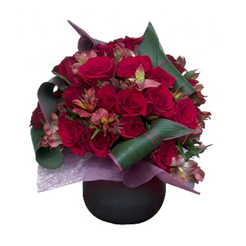 House Of Flowers by Marry Me Flower Bouquet - Burning Love, 1 pc