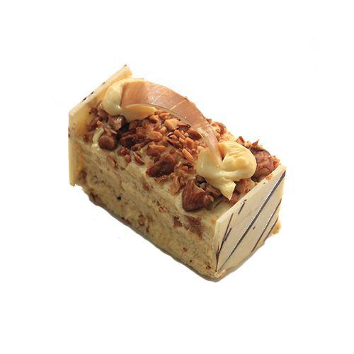 Theobroma Pastry - Almond Nougatine, Eggless, 1 pc