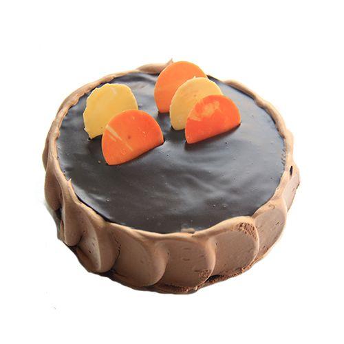 Theobroma Fresh Cake - Cappuccino, Eggless, 1 kg