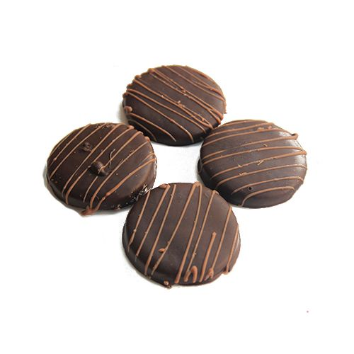Theobroma Dark Coated Biscuits, Eggless, 5 pcs