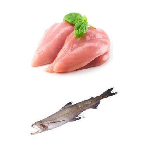 Fresh n Fresh Combo - Chicken Boneless & Bombil Fish / Bombay Duck, 1 kg Tray