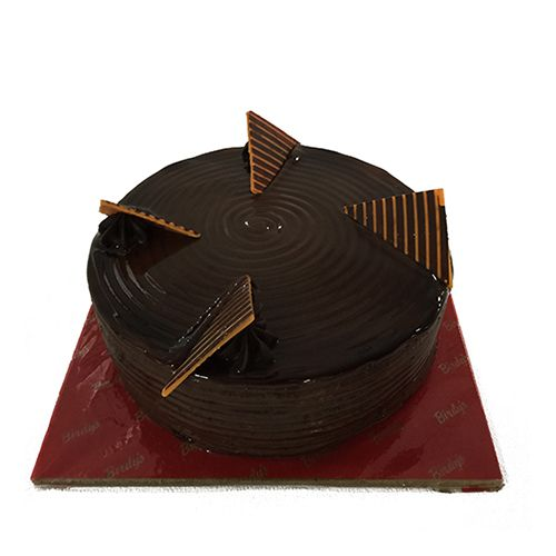 Birdy's Bakery & Patisserie Fresh Cake - New York Chocolate, Eggless, 2 kg BOX