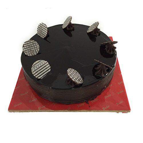 Cake Off Corporate Fresh Cake - Dutch Truffle, Eggless, 5 kg BOX