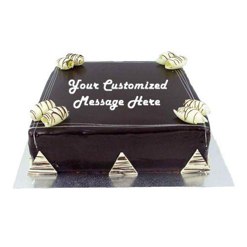 Just Bake Fresh Cake - Chocolate Truffle, Eggless, 8 kg