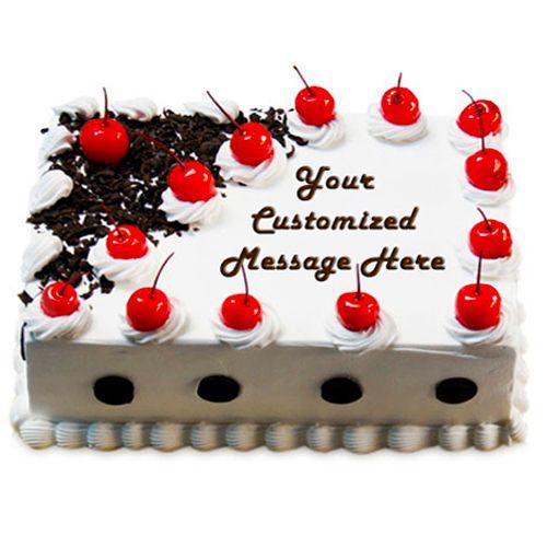 Just Bake Fresh Cake - Black Forest, Eggless, 4 kg