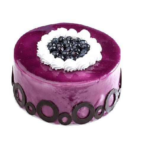 Brown Bear Fresh Cake - Blueberry, 1 kg