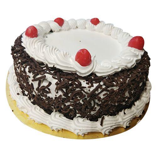 Karachi Bakery Chandanagar Fresh Cake - Blackforest, 1 kg