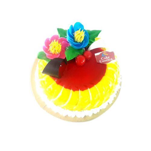 Cake Exotica Fresh Cake - Premium Pineapple, 1 kg
