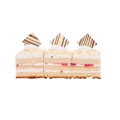 Cake Exotica Pastry - White Forest, 5 pcs
