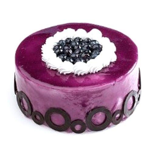 5th avenue bakers sainikpuri Fresh Cake - Blue Berry, 1 kg