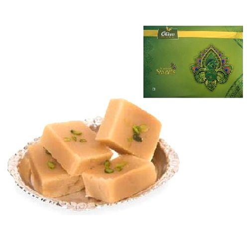 Diwali Olive Mithai Sweets - Milk Mysore Pak, 500 g