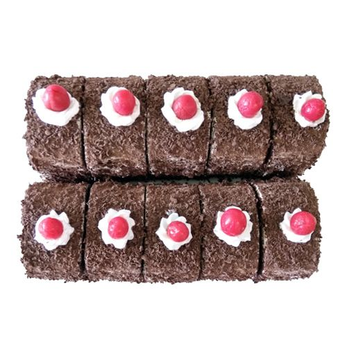 MIDLAND BAKERS Cake - Black Forest Pastries, 2 pcs